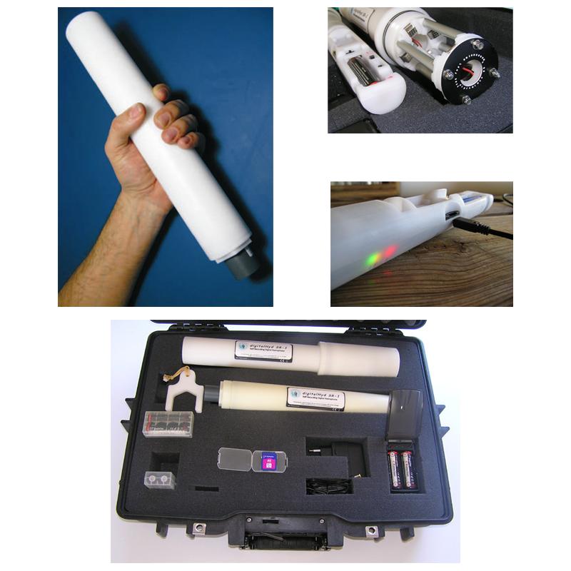 Self-Recording Digital Hydrophone   digitalHyd SR-1