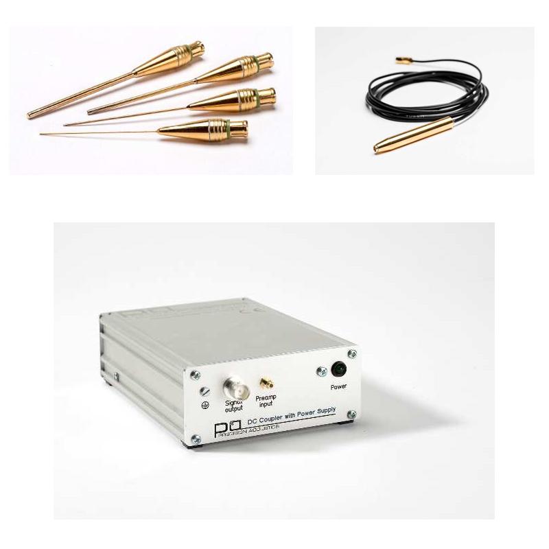 Needle hydrophones ( Precision Acoustics Ltd)